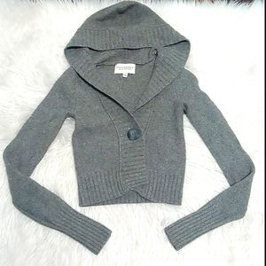 Abercrombie & Fitch Cashmere Wool Blend Cr…